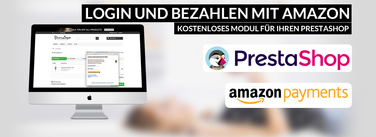 PrestaShop Modul für Login and Pay With Amazon