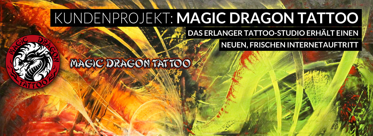 Kundenprojekt: Magic Dragon Tattoo